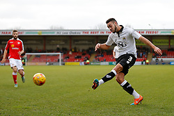 Derrick Williams of Bristol City in action - Photo mandatory by-line: Rogan Thomson/JMP - 07966 386802 - 20/12/2014 - SPORT - FOOTBALL - Crewe, England - Alexandra Stadium - Crewe Alexandra v Bristol City - Sky Bet League 1.