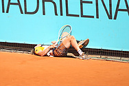 Alejandro Davidovich Fokina of Spain during the Mutua Madrid Open 2021, Masters 1000 tennis tournament on May 4, 2021 at La Caja Magica in Madrid, Spain - Photo Laurent Lairys / ProSportsImages / DPPI
