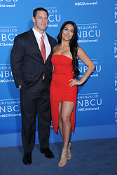 May 15, 2017 - New York, NY, USA - May 15, 2017  New York City..John Cena and Nikki Bella attending the 2017 NBCUniversal Upfront at Radio City Music Hall on May 15, 2017 in New York City. (Credit Image: © Kristin Callahan/Ace Pictures via ZUMA Press)