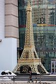 Eiffel Tower Replica Appears