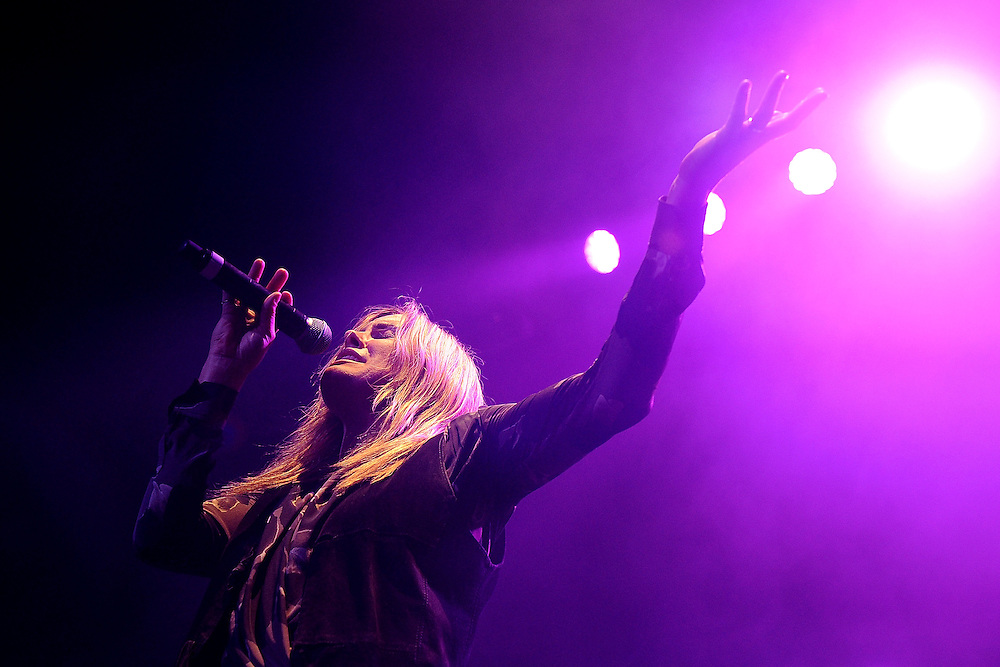 BYRON BAY, AUSTRALIA - APRIL 17:  Grace Potter and The Nocturnals performs live for fans at the 2014 Byron Bay Bluesfest on April 17, 2014 in Byron Bay, Australia.  (Photo by Matt Roberts/Getty Images)