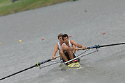 Amsterdam, HOLLAND, GBR M2- Bow, Tom SOLESBURY and Tom JAMES, at the 2007 FISA World Cup Rd 2 at the Bosbaan Regatta Rowing Course. 23.06.2007[Mandatory Credit: Peter Spurrier/Intersport-images]...... , Rowing Course: Bosbaan Rowing Course, Amsterdam, NETHERLANDS