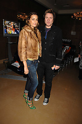 SIMON & YASMIN LE BON at a party to celebrate the first year if ING's sponsorship of the Renault Formula 1 team, held at the Mayfair Hotel, Stratton Street, London W1 on 28th November 2007.<br />