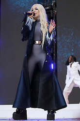 Ava Max on stage during Capital's Summertime Ball. The world's biggest stars perform live for 80,000 Capital listeners at Wembley Stadium at the UK's biggest summer party. PRESS ASSOCIATION PHOTO. Picture date: Saturday June 8, 2019. Photo credit should read: Isabel Infantes/PA Wire