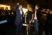 HUD MORGAN, JANNIKE AKERLIND AND STEFAN BOOTH, De Grisogono & Londino Car Rally  party. <br />