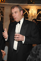 HRH The DUKE OF YORK at the Eastern Eye Asian Business Awards 2007 in the presence of HRH The Duke of York at the Hilton Park Lane, London on 8th May 2007.<br /><br />NON EXCLUSIVE - WORLD RIGHTS