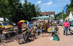 Street Market in the village of Graufthal, Alsace, France.<br /> <br /> (c) Andrew Wilson | Edinburgh Elite media