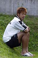 Roccaporena (PG) 31/7/2004 <br /> <br /> <br /> <br /> Ritiro precampionato FC Messina. Amichevole - Friendly Match. <br /> <br /> <br /> <br /> Messina - Selezione AIC 3-0 <br /> <br /> <br /> <br /> Nella foto: <br /> <br /> Atsushi Yanagisawa (Messina) <br /> <br /> Photo Andrea Staccioli
