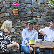19.07.2016              <br /> The great patchwork quilt of characters that makes up Limerick city centre is being unveiled in a new digital marketing campaign that captures the diversity and wit of one of Limerick's greatest assets – its people.<br /> <br /> Pictured at the Stormy Teacup, Fox's Bow Limerick  were, Eleanor Purcell, Cahills Shop, Sarah Evans, Limerick Carriage Tours and Paul Craughan, O'Connells Butchers who all feature in the campaign videos.<br /> <br /> Launched today by the Office of Communications/Marketing at Limerick City and County Council, 'Our City, Our Stories' is a series of video shorts that will illustrate the wonderful mix of humour and personality of Limerick people.<br /> <br /> The videos, created by Southern Media, can be viewed on Limerick.ie social media (Facebook, Twitter and Instagram) and a new story will appear every two days and on Limerick.ie/ourcitystories over a ten week period. The first series focuses on the city centre. Picture: Alan Place