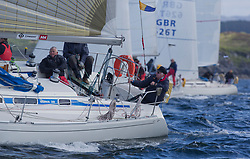 Clyde Cruising Club's Scottish Series 2019<br /> 24th-27th May, Tarbert, Loch Fyne, Scotland<br /> <br /> Day 1 - GBR8272, Enigma, CCC, Sigma 38.<br /> <br /> Credit: Marc Turner / CCC
