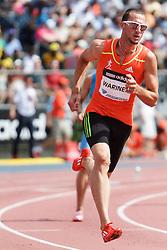 Samsung Diamond League adidas Grand Prix track & field; men's 400 meters, start, Jeremy Wariner, USA,