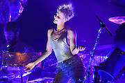 Robyn photographed performing at the Governors Ball Music Festival on Randalls Island in New  York City on June 3, 2016