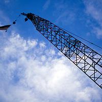 Highlands Bridge Construction Stock Images