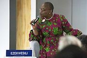 Obiageli Katryn Ezekwesili, Richard von Weizsäcker Fellow, Robert Bosch Academy, Germany speaking during the session Promoting Female Leadership at the World Forum World Economic Forum on Africa 2019. Copyright by World Economic Forum / Greg Beadle