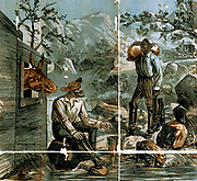 Vignettes of western scenes Creator: A.S.Seer Print. 1881?