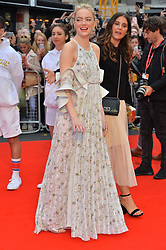 © Licensed to London News Pictures. 07/10/2017. London, UK. EMMA STONE attends the European film premiere of Battle Of The Sexes showing as part of the BFI London Film Festival. Photo credit: Ray Tang/LNP