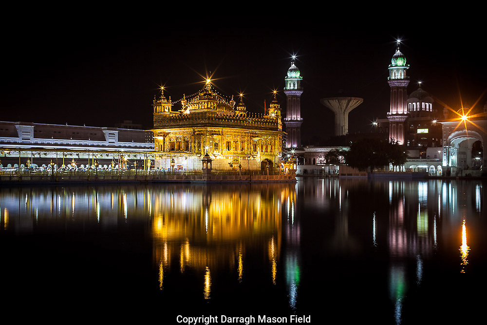 The Golden Temple at Amritsar, India