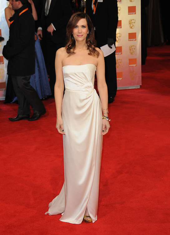 Kristen Wiig attends the Orange British Academy Film Awards 2012 at the Royal Opera House, London, UK.. 12/02/2012 Anne-Marie Michel/CatchlightMedia
