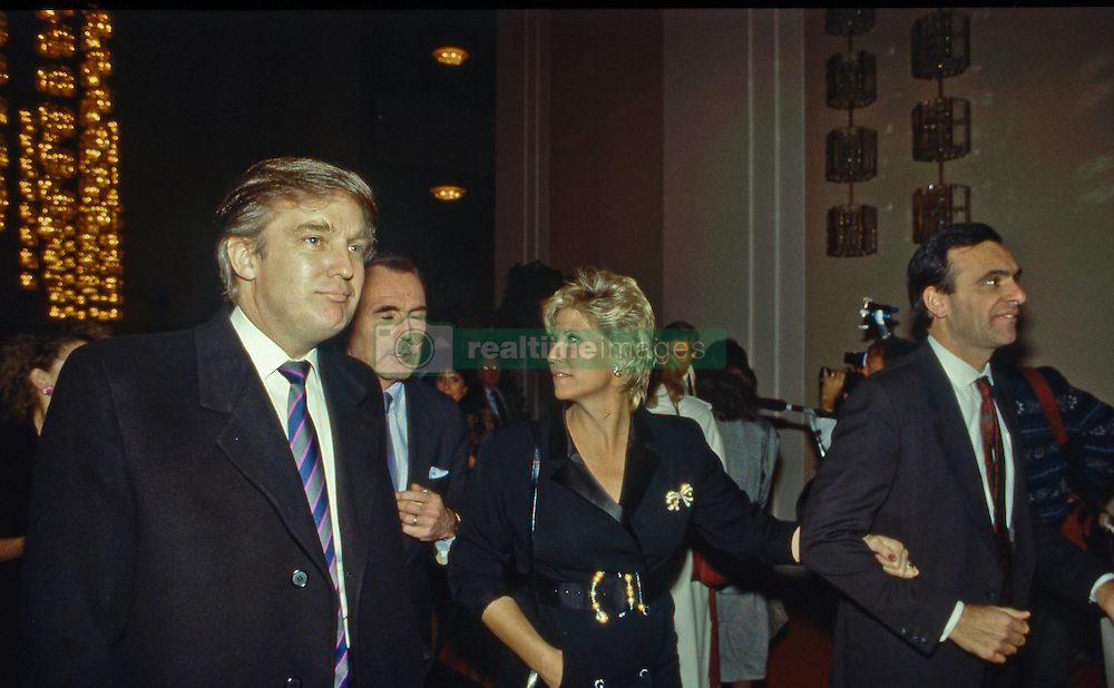 Dec. 6, 1988 - Washington, District of Columbia, United States of America - Donald Trump arrives at the Kennedy Center to attend the annual Kennedy Centers Awards show. (Credit Image: © Mark Reinstein/via ZUMA Wire via ZUMA Wire)