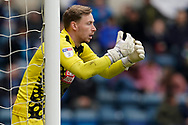 Ryan Allsop of Wycombe Wanderers during the EFL Sky Bet League 1 match between Wycombe Wanderers and Portsmouth at Adams Park, High Wycombe, England on 6 April 2019.