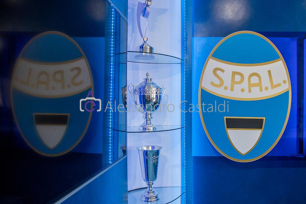 FERRARA - ITALY, 11-07-19 - Conferenza Stampa SPAL Presentazione Giocatore 2019—2020 Centro Sportivo G.B. Fabbri, FOTO DI CASTALDI, NELLA FOTO: