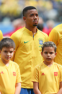 Gabriel Jesus of Brazil during the 2018 FIFA World Cup Russia, Group E football match between Brazil and Costa Rica on June 22, 2018 at Saint Petersburg Stadium in Saint Petersburg, Russia - Photo Thiago Bernardes / FramePhoto / ProSportsImages / DPPI