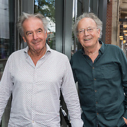 NLD/Amsterdam/20190701 - Uitreiking Johan Kaartprijs 2019,  Paul Haenen en partner Dammie van Geest