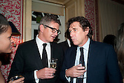 JAY JOPLING; BRYAN FERRY, Graydon Carter hosts a diner for Tom Ford to celebrate the London premiere of ' A Single Man' Harry's Bar. South Audley St. London. 1 February 2010
