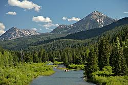 Rafting, Greys River, Alpine, Wyoming, salt, river, range,
