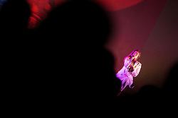 Senida Hajdarpašić Senidah of Muff music group perform during Traditional New Year party of of the Slovenian Football Association - NZS, on December 18, 2017 in Kongresni center, Brdo pri Kranju, Slovenia. Photo by Vid Ponikvar / Sportida