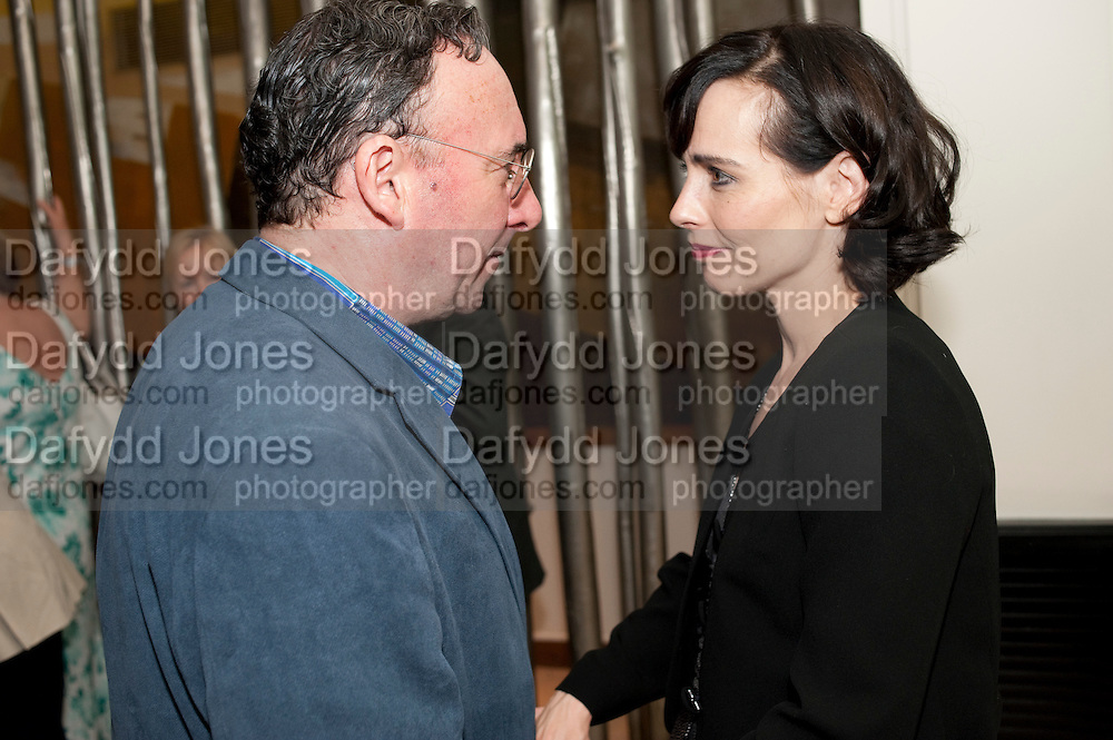 ANTONY SHER; TARA FITZGERALD, The opening night of Broken Glass at the Vaudeville Theatre. Followed by  the after show party is at One Aldwych. London. 16 September 2011. <br />  , -DO NOT ARCHIVE-© Copyright Photograph by Dafydd Jones. 248 Clapham Rd. London SW9 0PZ. Tel 0207 820 0771. www.dafjones.com.