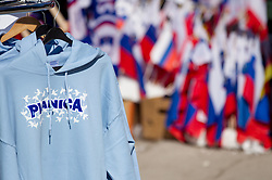 Souvenirs during Flying Hill Team competition at 3rd day of FIS Ski Jumping World Cup Finals Planica 2012, on March 17, 2012, Planica, Slovenia. (Photo by Vid Ponikvar / Sportida.com)