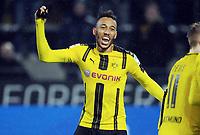 Pierre-Emerick Aubameyang (Dortmund)<br /> Dortmund, 04.02.2017, Fussball Bundesliga, Borussia Dortmund - RB Leipzig 1:0<br /> <br /> Norway only