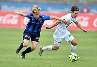 Fotball , 16. juni 2020 , Eliteserien  , Stabæk - Mjøndalen<br /> <br /> Lars Olden Larsen , MIF<br /> Peder Vogt , Stabæk