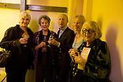 SHEILA HANCOCK; FAITH BROOK; ; MURRAY MELVIN; RITA DAVIES; KATE MUTTON; PAULA JACOBS. The Actors Centre's 30th Birthday Party. 1a Tower St, Covent Garden. London. 2nd November<br /> *** Local Caption *** -DO NOT ARCHIVE -Copyright Photograph by Dafydd Jones. 248 Clapham Rd. London SW9 0PZ. Tel 0207 820 0771. www.dafjones.com