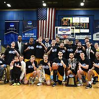 Men's Basketball: Virginia Wesleyan University Marlins vs. Randolph-Macon College Yellow Jackets