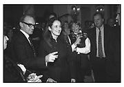 NICHOLAS COLERIDGE, ISABEL GOLDSMITH, TATLER TRAVEL AWARDS, Ritz, 1998