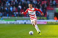 Tommy Rowe of Doncaster Rovers (10) in action during the EFL Sky Bet League 1 match between Doncaster Rovers and Coventry City at the Keepmoat Stadium, Doncaster, England on 4 May 2019.