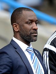 Huddersfield Town Manager, Chris Powell looks on - Photo mandatory by-line: Richard Martin-Roberts/JMP - Mobile: 07966 386802 - 21/03/2015 - SPORT - Football - Huddersfield - John Smith's Stadium - Huddersfield Town v Fulham - Sky Bet Championship