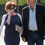 NLD/Bilthoven/20120618 - Uitvaart Will Hoebee, Ron Brandsteder en partner Yvonne Baggen