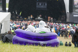 Fans in the main arena..Rockness, Sunday 13th June..Pic ©2010 Michael Schofield. All Rights Reserved.