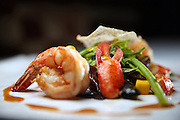 The lobster salad Wednesday, July 3, 2013 at Les Nomades. (Brian Cassella/Chicago Tribune)  B583036775Z.1 <br /> ....OUTSIDE TRIBUNE CO.- NO MAGS,  NO SALES, NO INTERNET, NO TV, CHICAGO OUT, NO DIGITAL MANIPULATION...