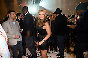 ESTONIAN SINGER Hannah Ild, A Tribute to Cinema party given by Moet and Chandon.Big Sky Studios, Brewery Rd. London.  24 March 2009 *** Local Caption *** -DO NOT ARCHIVE-© Copyright Photograph by Dafydd Jones. 248 Clapham Rd. London SW9 0PZ. Tel 0207 820 0771. www.dafjones.com.<br /> ESTONIAN SINGER Hannah Ild, A Tribute to Cinema party given by Moet and Chandon.Big Sky Studios, Brewery Rd. London.  24 March 2009