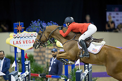 Davis Lucy, (USA), Barron <br />  Longines FEI World Cup™ Jumping Final Las Vegas 2015<br />  © Hippo Foto - Dirk Caremans<br /> Final III round 2 - 19/04/15