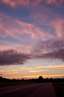 Pastel Sky at Dawn. 12 of 13 Images taken with a Leica X2 camera and 24 mm f/2.8 lens (ISO 125, 24 mm, f/2.8, 1/30 sec). Raw images processed with Capture One Pro and the panorama generated using AutoPano Giga Pro.