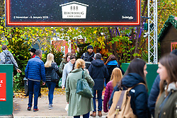 DAILY MAIL: A security operative stops visitors for a bag search at the Southbank Christmas Market adjacent to the London Eye in London. London, November 16 2018.