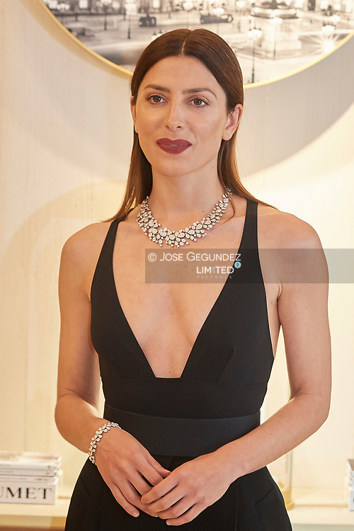 Barbara Lennie attends Chaumet Paris opening of new boutique store on April 23, 2019 in Madrid, Spain