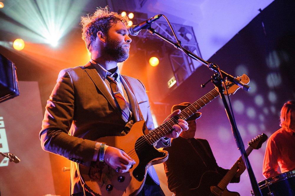 Photos of the band Caveman performing live at Reykjavik Art Museum during Iceland Airwaves Music Festival in Reykjavik, Iceland. October 31, 2013. Copyright © 2013 Matthew Eisman. All Rights Reserved