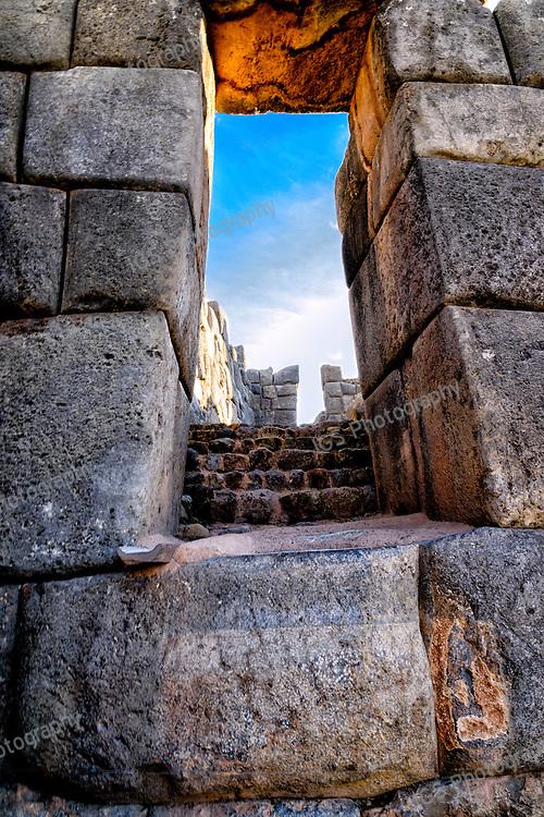 Sacsayhuaman Stonework and Doorway