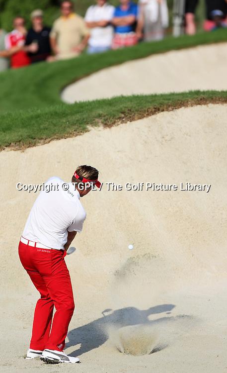 Ian POULTER (ENG) during third round DP World Tour Championship 2013,Jemeirah Golf Estates, Dubai,UAE.